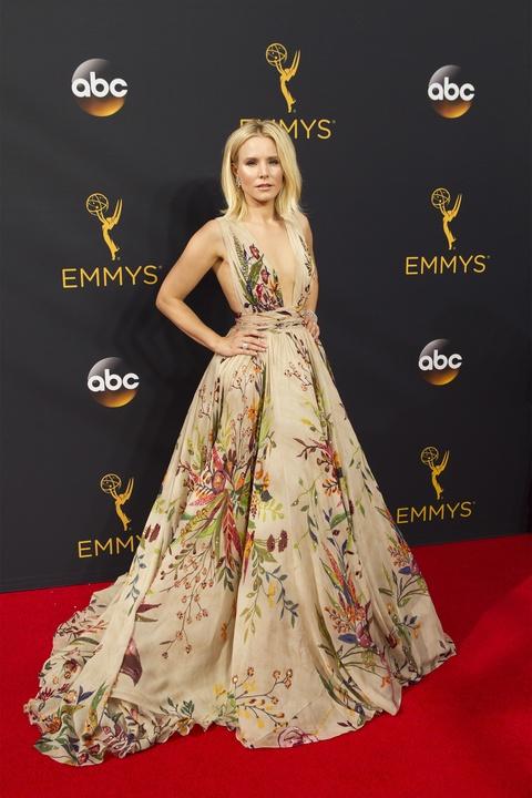 Kristen Bell Emmy gown Zuhair Murad