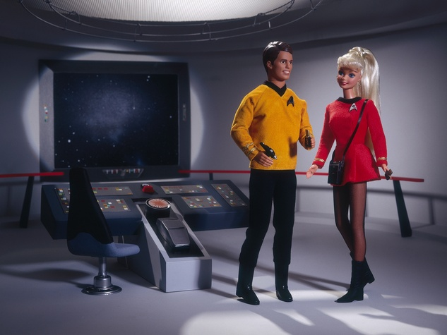 Star Trek Ken and Barbie 1996