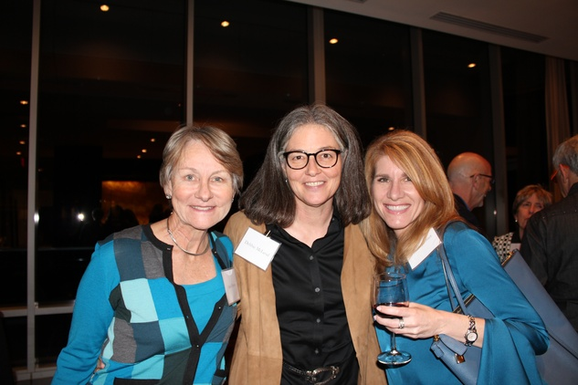 Jane Howze, from left, Debbie McLeod and Pam Kutner at the Jane's Due Process fundraiser February 2015