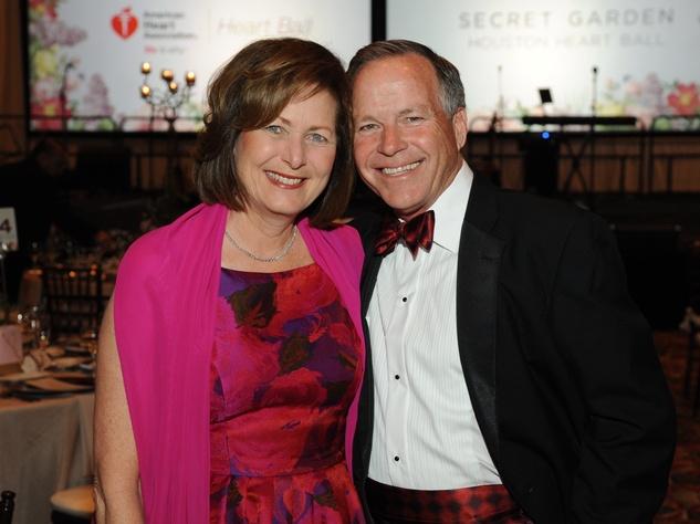 Houston, Heart Ball, Feb 2017, Debbie Moore Jack Moore