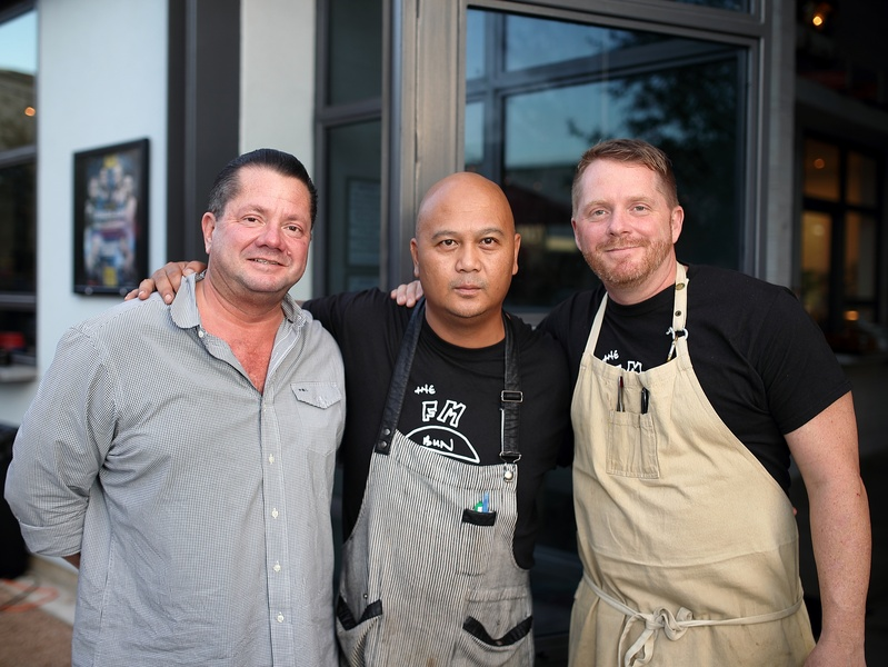 Houston, Marcy, Friends of Habitat for Humanity event,  Scott Hildebrand, Jonald Veneracion, chef Ryan Hildebrand