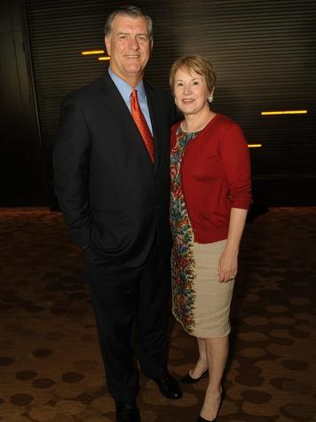 Mayor Mike Rawlings and Mickie Rawlings