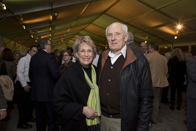 Barbara and Louis Sklar at the Memorial Park Conservancy benefit February 2015