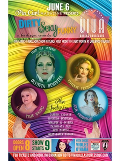Viva Dallas Burlesque presents Dirty Sexy Funny