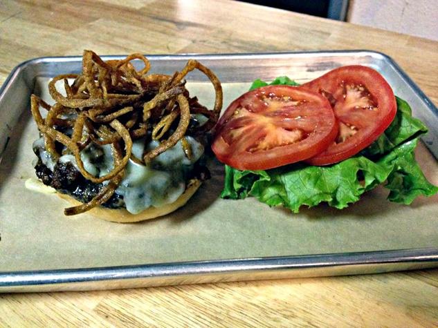 Big Tex burger at Goodfriend Beer Garden and Burger House in Dallas