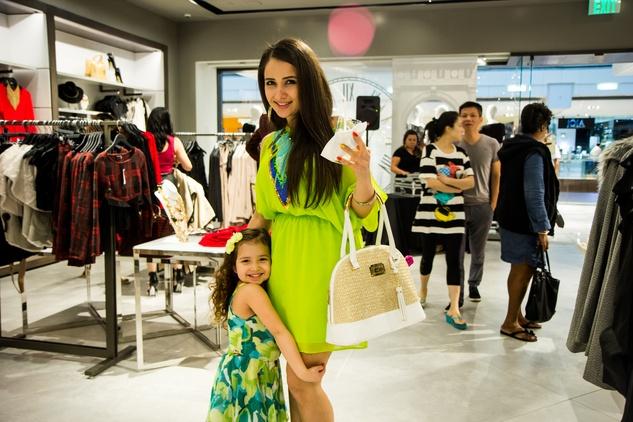 News, Shelby, Bebe party, Sept. 2015 Dyala Zaghbour (daughter) Sophia Zaghbour