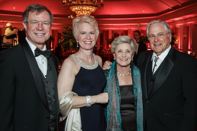 News, Shelby, Good Samaritan Pearl Ball, Feb. 2015, Geoff & Dawna Innis and Barbara & Barry Lewis