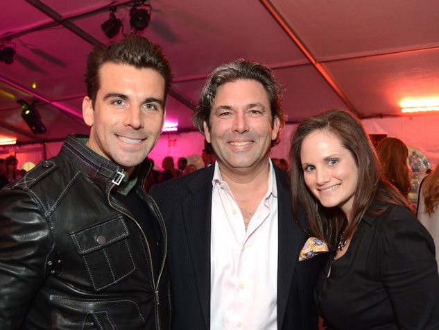 Michael Chabala, from left, Jared Lang and Amber N. Willis at West Ave Fashion on the Avenue March 2014
