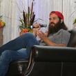Jep Robertson speaking at the LifeHouse Houston Duck Dynasty dinner September 2014