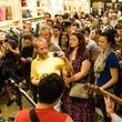 White Denim at Steven Alan store opening in Dallas