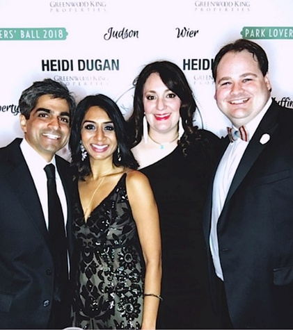Houston, West University Park Lovers' Ball, February 2018, Vikas Shah, Prina Shah, Mitra Woody, Josh Woody