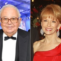 Fayez Sarofim at the Rice University Centennial gala October 2012and Susan Krohn at Memorial Hermann Gala head shots together July 2014