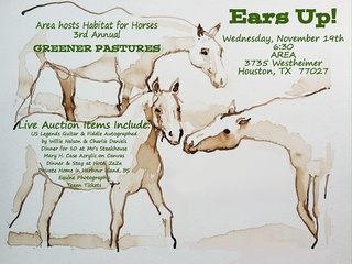 "Third Annual ""An Equine Evening for Greener Pastures"" benefiting Habitat for Horses"
