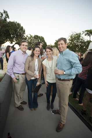 18 Robert and Andree Halpin, from left, and Sheridan and Robert Plumb at the Toss for Texas Children's Hospital October 2014