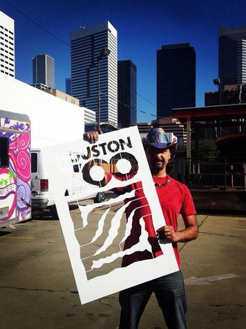 Houston Zoo gorilla street art murals GONZO247 February 2015