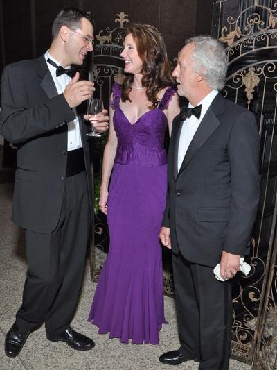 News_Houston Symphony_Gala_2010_Mark Hanson_Phoebe Tudor_Robert Yekovich