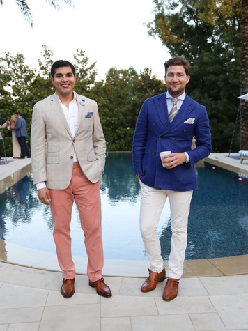 Fashion X Austin Men's Event 2015 Rudy Mejia Charles Knight