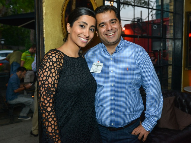 14 Shahrzad and Kamyar Yekta at the CultureMap Social at Boheme September 2014