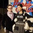 Hamish Bowles, Giovanna Battaglia at Chanel Metiers d'Art in Dallas