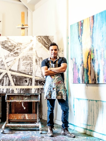 Artist Edgar Medina