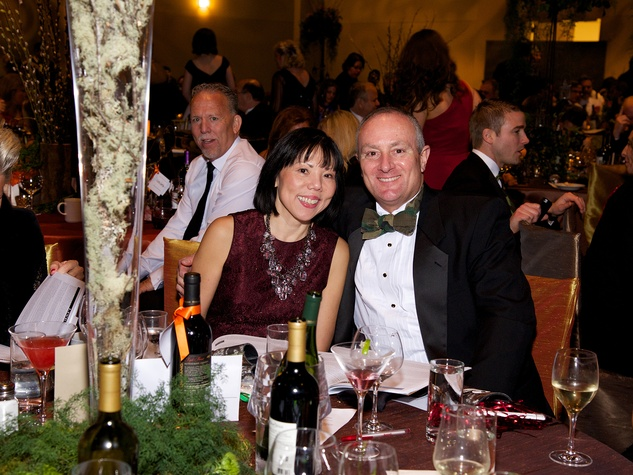 Janet Wong and Ron Mullins at the Montgomery County Heart Ball March 2014