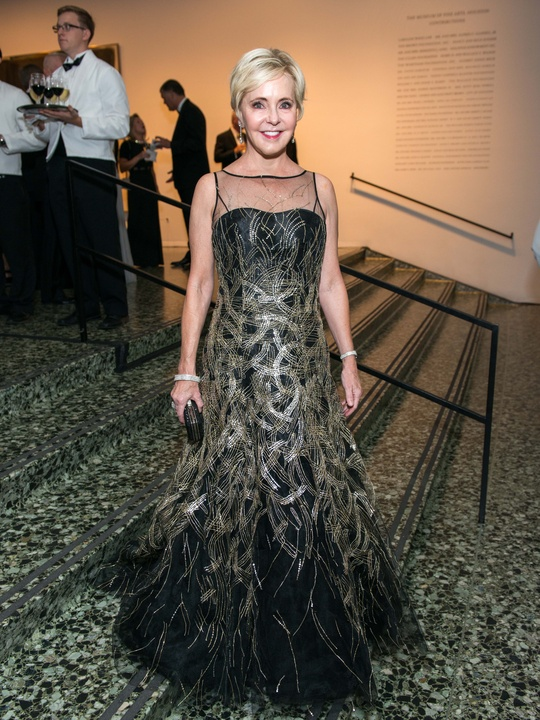 23 Karen Mayell wearing Carolina Herrera at the MFAH Grand Gala October 2014 GOWNS