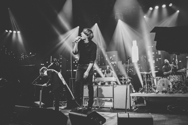 Phoenix playing acl live black and white