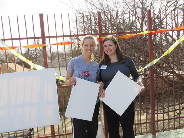 Elizabeth Wellborn, Leah Marshall, JLD provisional project at promise house
