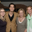 Lindsey Coffman, from left, Joshua Ibarra, Jenny Stevens and Brooke Hayward at the Urban Wild of Memorial Park Conservancy's Launch Party March 2015