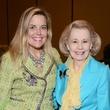 Debra Nelson, Yvonne Crum, WINGS luncheon