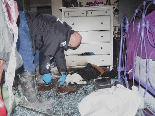 Slendora superintendent house arson 3 January 2014