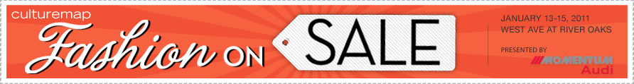 CultureMap Fashion on Sale :: January 13-15, 2012