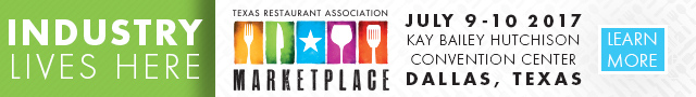 Texas Restaurant Association 2017